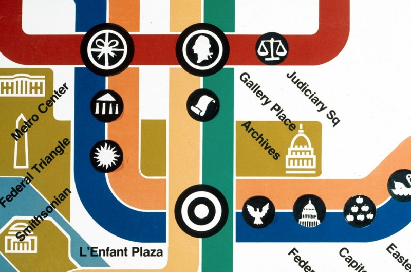 Mexico City S Metro Map Uses A