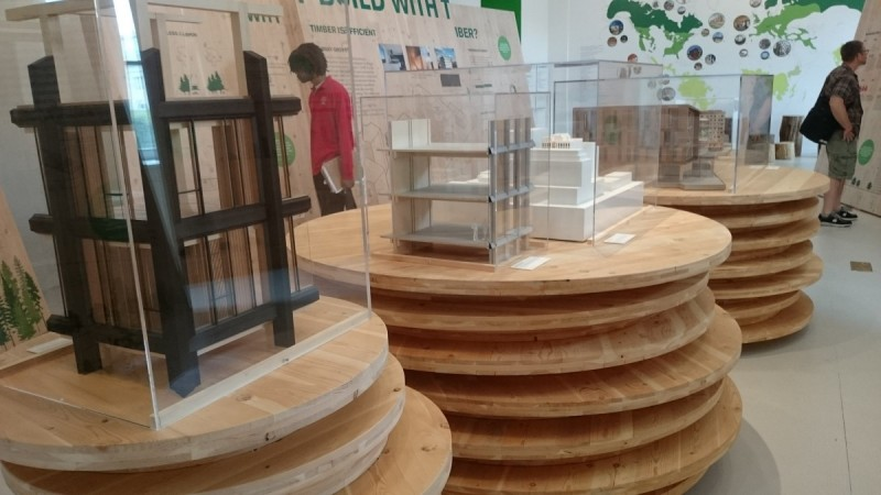 This Exhibit Shows How You Can Build A High Rise Out Ofwood