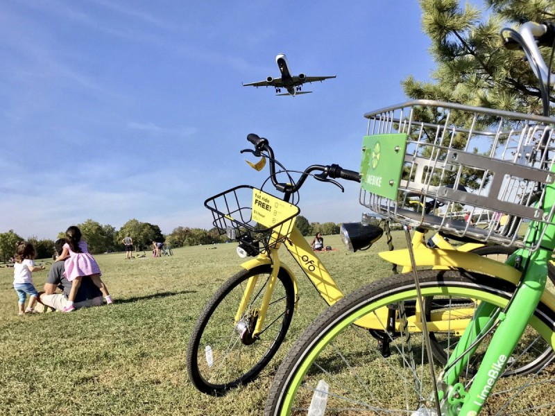 Where have all the dockless bicycles gone? Data from DC's