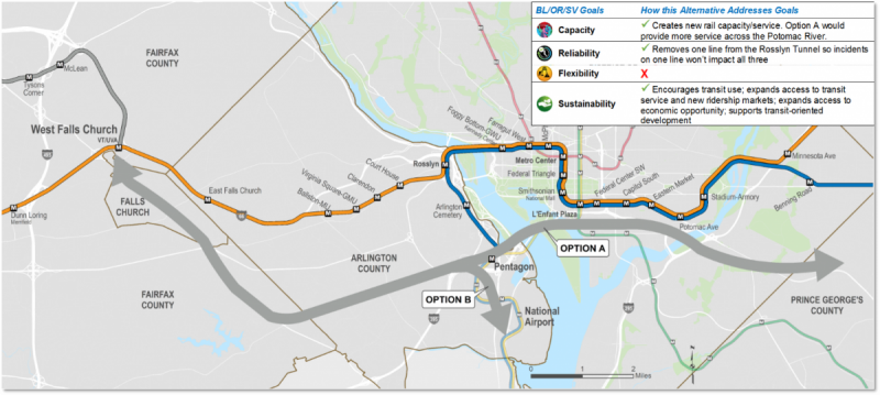 "Metro shows six ""fantasy maps"" for the Blue and Silver lines ..."