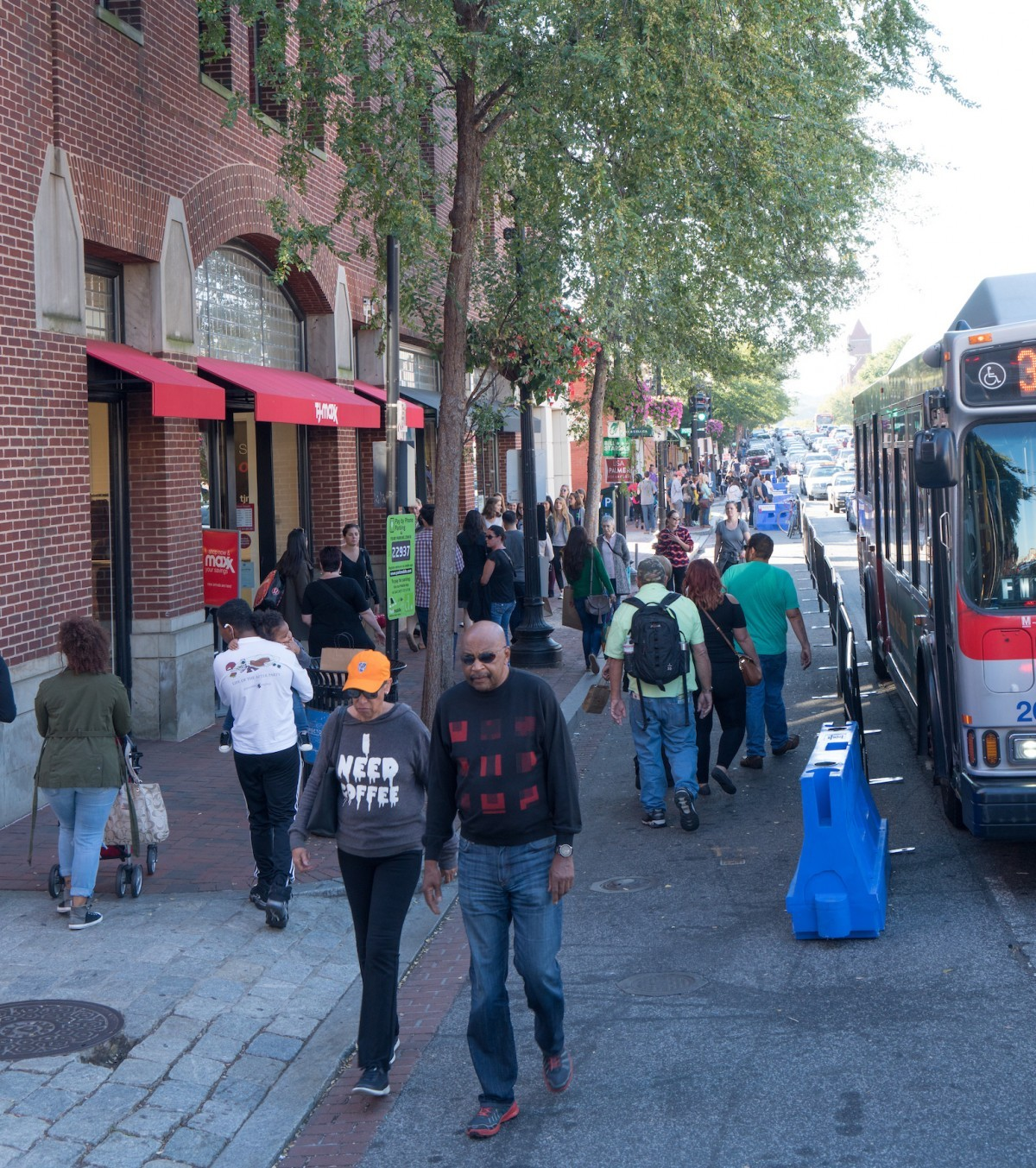 In Georgetown, a crash course in how to turn parking spaces