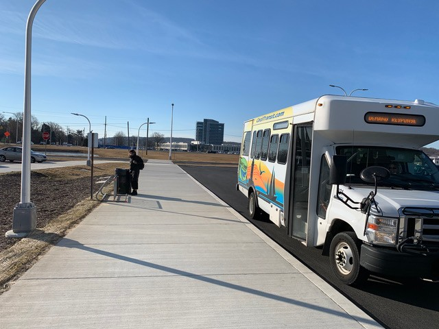 There's no regional rail between DC and Philly, so I tried the bus