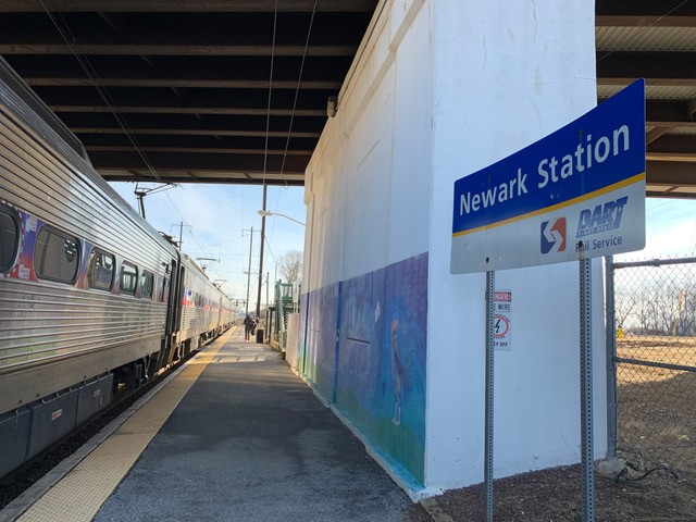 There's no regional rail between DC and Philly, so I tried