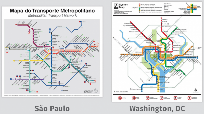 The World Cup of transit maps is going on now! Who do you think will ...