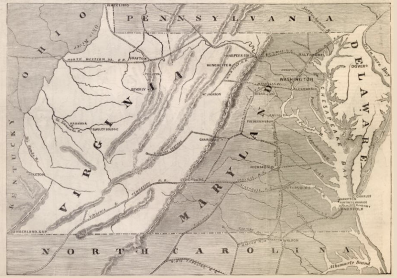 Maryland Almost Annexed Virginia In 1861 Greater Greater Washington