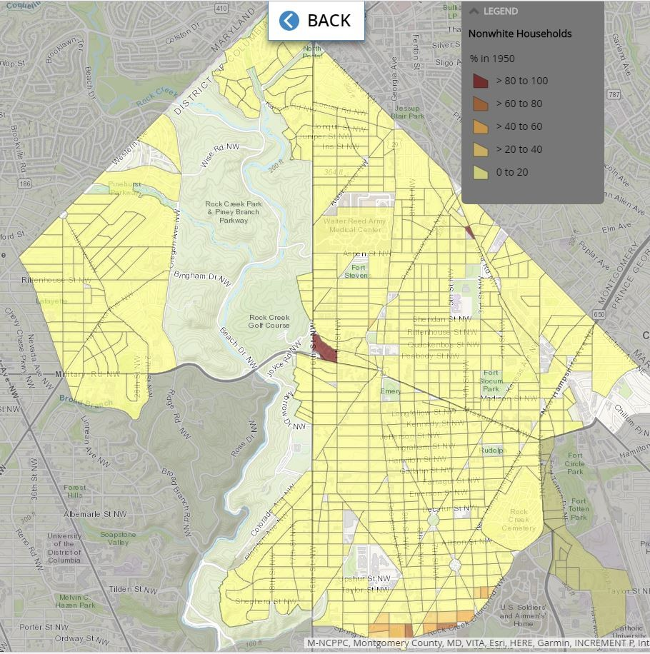 Petworth Dc Map.How Segregation Shaped Dc S Northernmost Ward Greater Greater