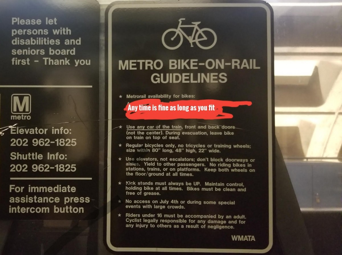 880c1d9d2ae Now you can bring your bicycle on Metro during rush hour – Greater ...