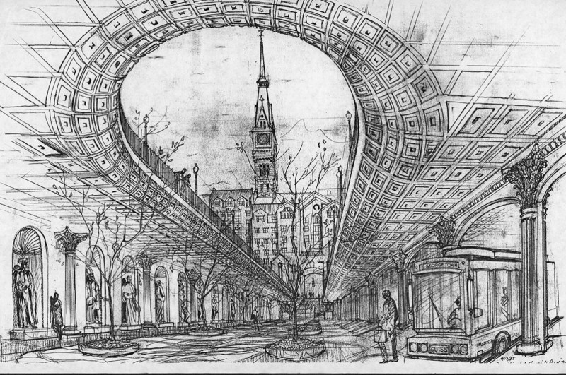 Georgetown University Once Almost Built A Neoclassical Bus