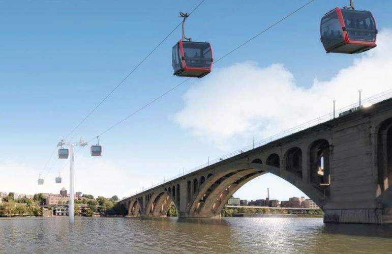 A Rosslyn Georgetown Gondola Would Fill A Real Hole In Our