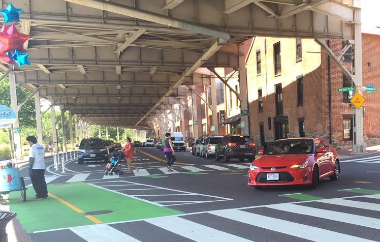 Georgetown Gets A New Kwater Street Bikeway But Also Complaints