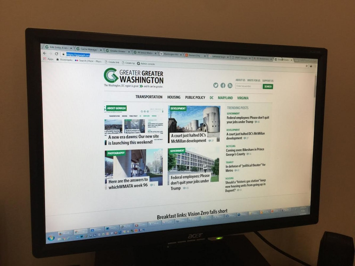 Welcome to our new website! – Greater Greater Washington