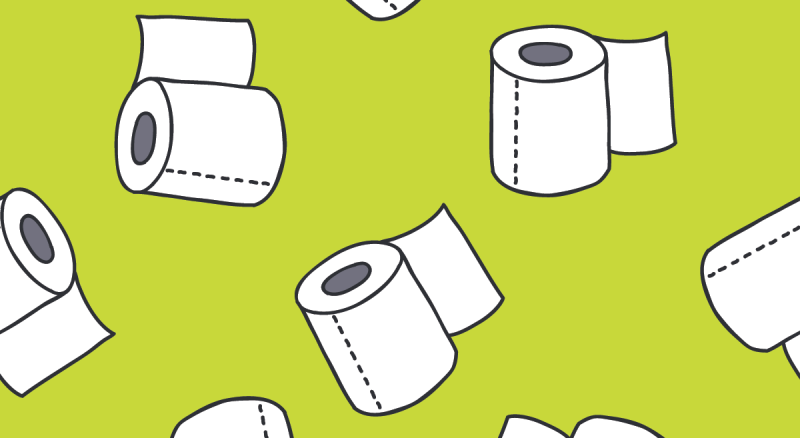 """The """"Toilet Paper Test"""" is a litmus test for walkability. Does ..."""