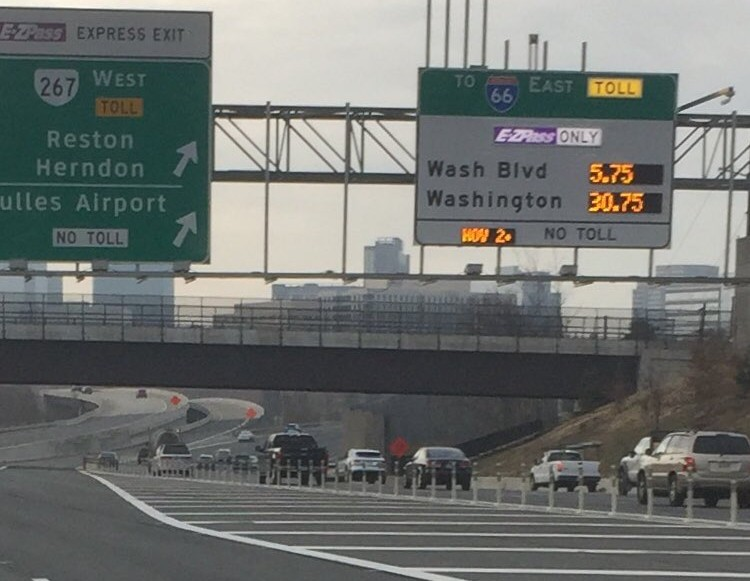 The new $40 I-66 tolls offer great insight into commuter