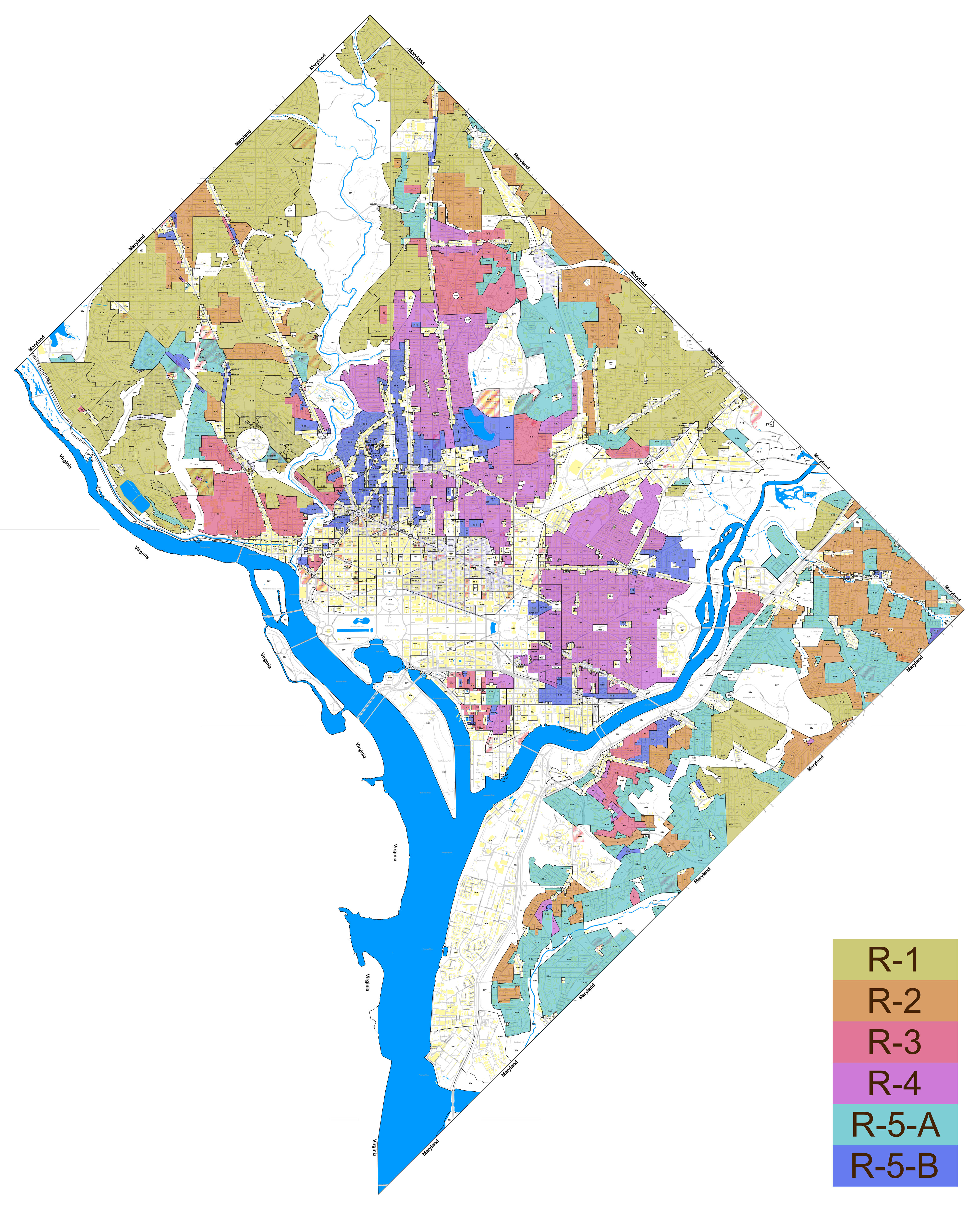 Dc Zoning Map Finding the right buffer – Greater Greater Washington Dc Zoning Map