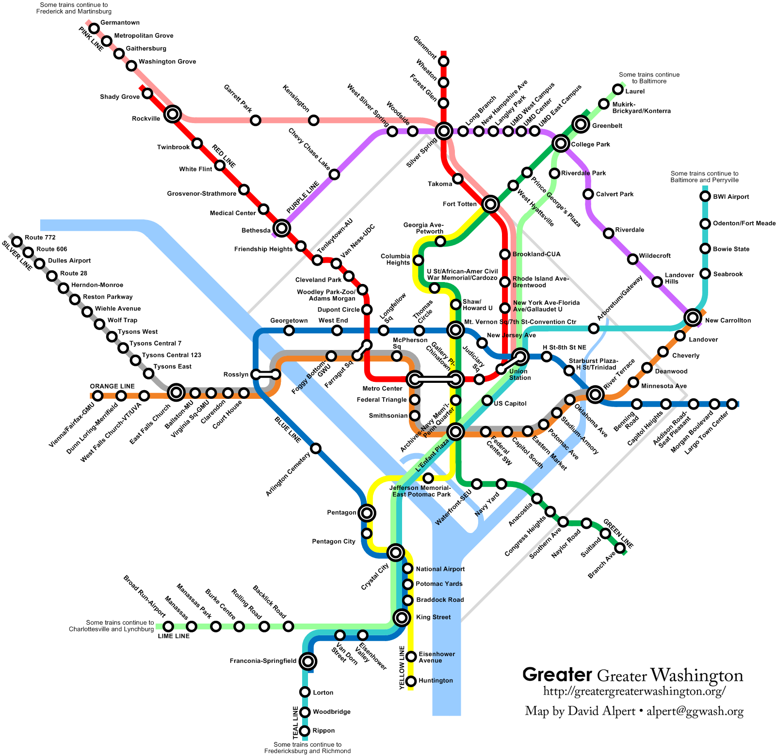 The Metro Express Greater Greater Washington