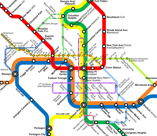 The New Circulators And The Metro Map Greater Greater Washington