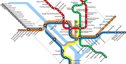 Dc Metro Map Green Line.A Cheaper Route To Metro Core Capacity Part 2 Virginia Service