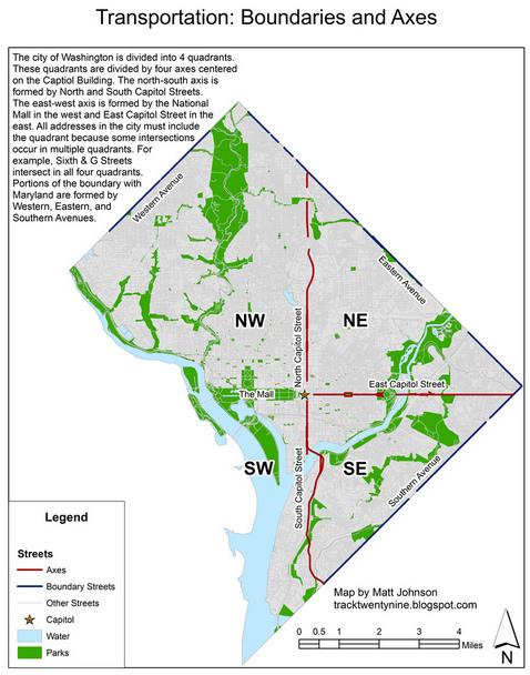 Florida Universities Map.Washington S Systemic Streets Greater Greater Washington