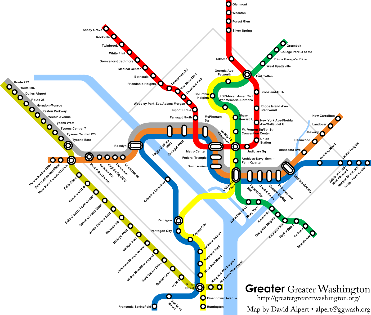 What About A Gold Line For Route 7 Greater Greater Washington