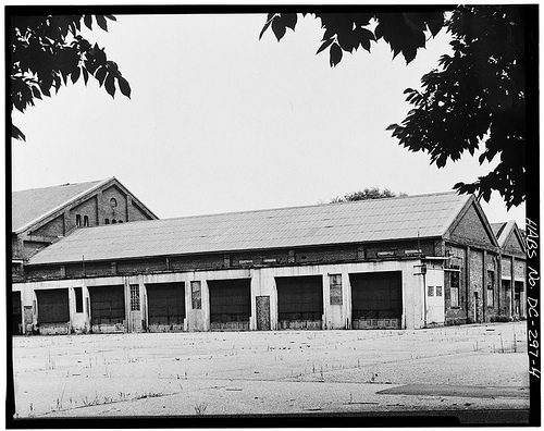 Trinidad Car Barn (rear)