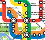 WMATA map downtown. Click to enlarge (PDF)