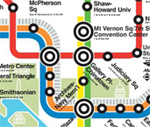 WMATA future map downtown. Click to enlarge