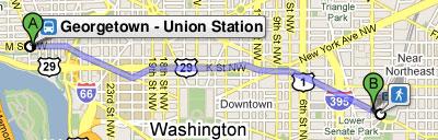 Circulator now in Google Transit – Greater Greater Washington