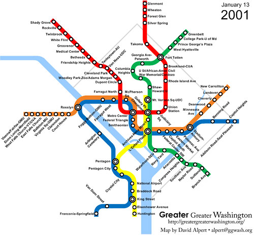 Green Line to Branch Avenue