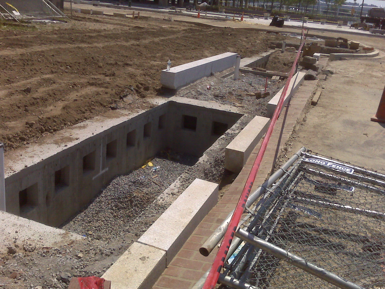 Navy Yard sidewalks get sustainable stormwater systems