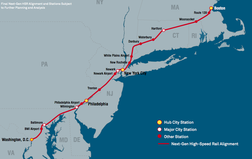 How Far Is New York From Boston >> Hsr Could Get You To Boston In 3 Hours But It S Pricey Greater