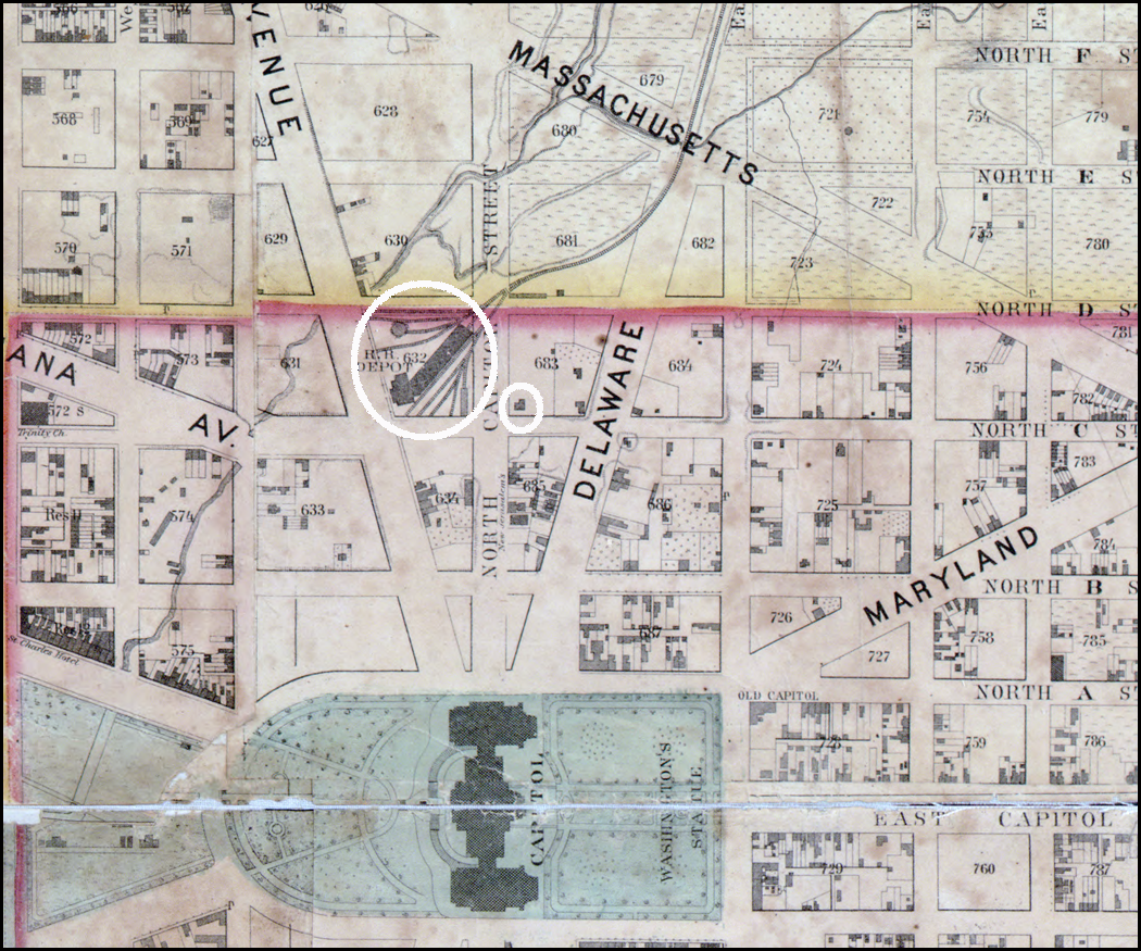 The Gas Man And His Magic Lantern Come To The Capitol Greater - Map of the us capitol