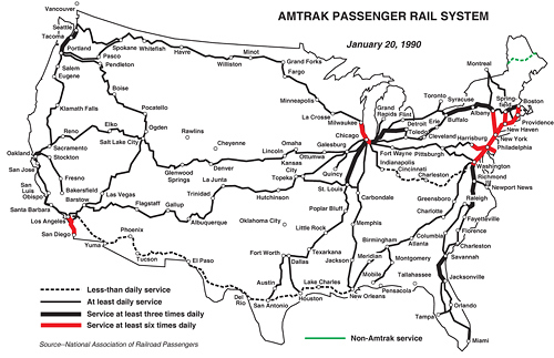 what remains of the national passenger train network albeit skeletal compared to what it was and what it should be exists largely thanks to the efforts of