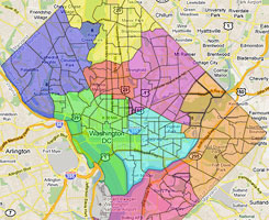 Dc Parking Zone Map Redistricting Game results, part 5: The best options – Greater