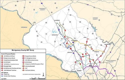 Montgomery County BRT Proposal