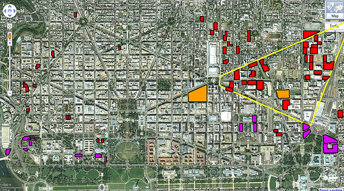Where Are Dc S Downtown Surface Parking Lots Greater
