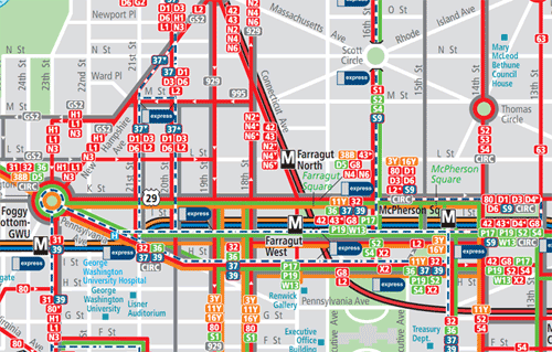 Would personalized spider maps be useful for DC Greater – DC Tourist Map