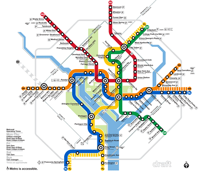 Wmata Proposes New Map Recommends Renaming King Street Waterfront