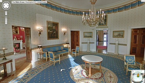 Tour The White House With Google Street View Greater