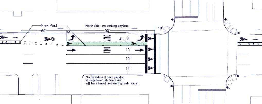 DDOT tweaks L Street bike lane plan – Greater Greater Washington