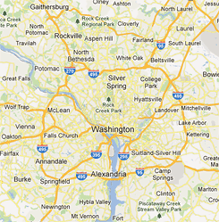 Map of bike highways in the dc region greater greater washington images from google maps publicscrutiny Image collections