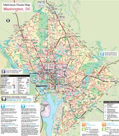 WMATA makes new diagrammatic bus maps Greater Greater Washington