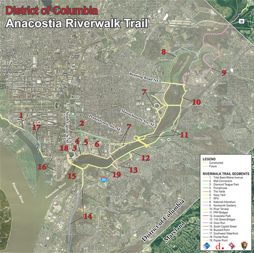 Riverwalk Will Connect Communities And The Anacostia River