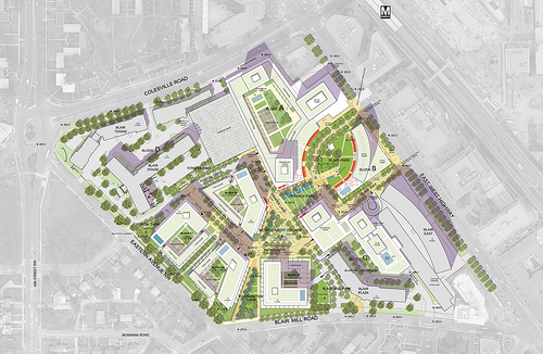 Rebuild Of The Blairs Will Turn Silver Spring Parking Into
