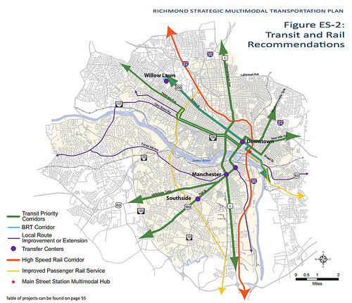 Richmond maps out a better transit network Greater Greater Washington