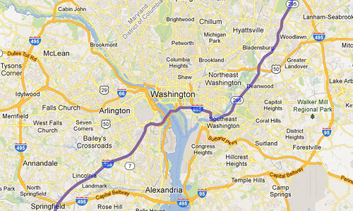 Online maps now send through travelers into DC – Greater ... on satellite view of a vietnam, aerial view of neighborhoods, atlanta neighborhoods, map of seattle neighborhoods, satellite view of address zoom, satellite view of neighborhood,