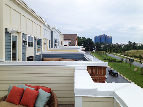 New Townhomes With Roofdecks At Crown In Gaithersburg All Photos By The Author Unless Noted