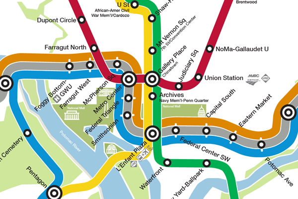 What If The New Metro Map Were To Scale Greater Greater Washington