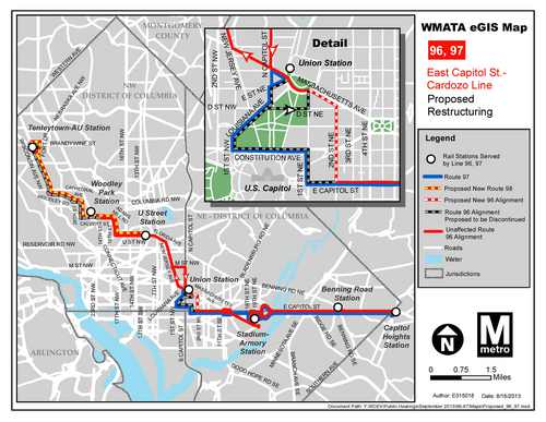 Metrobus Proposal Hurts Connections To Upper Northwest – Greater