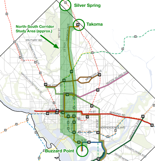 DC studying streetcar to Takoma or Silver Spring Greater Greater
