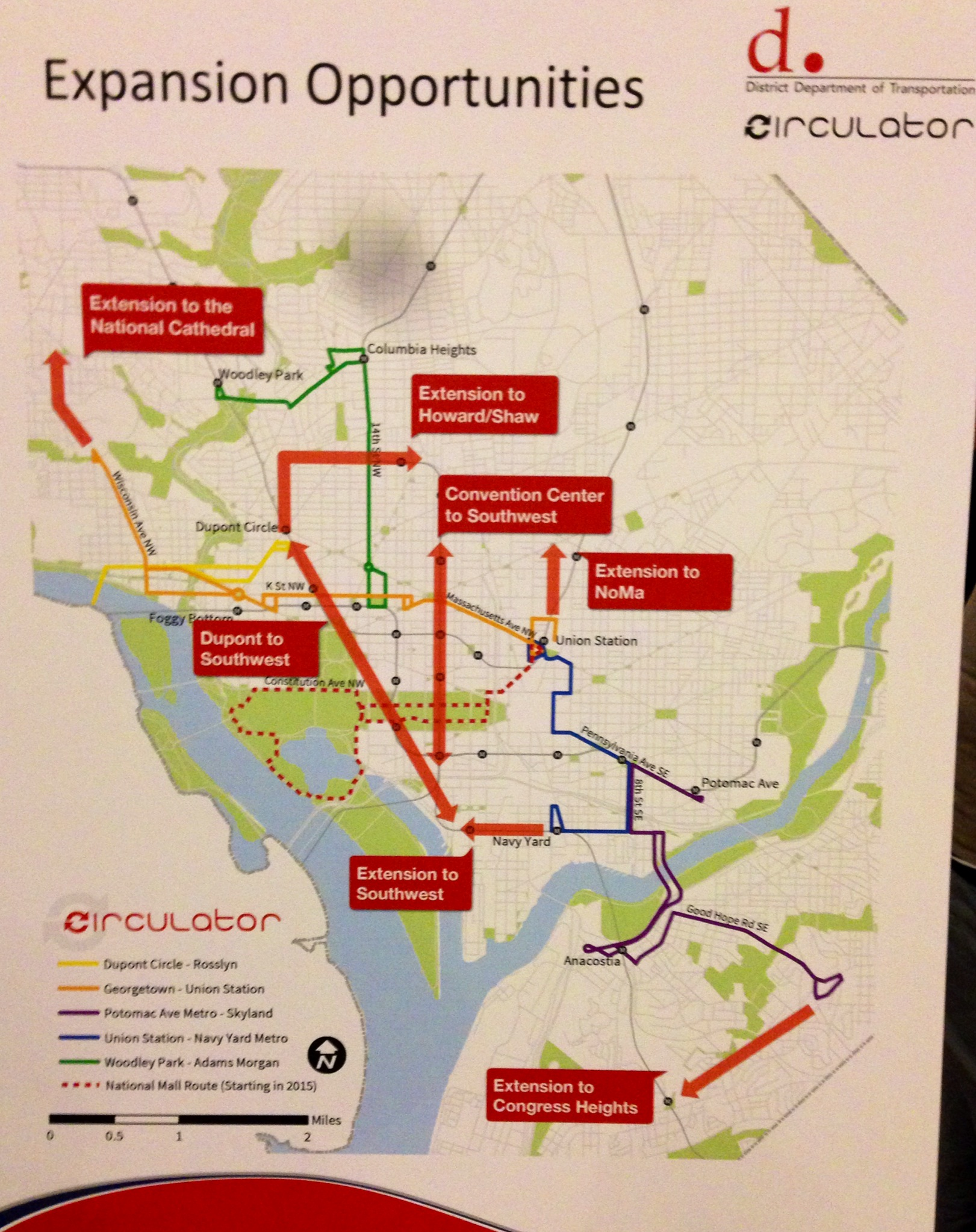 After a decade in service, where could the Circulator go